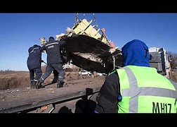 Short impression of the recovery of MH17 wreckage in Ukraine from 16 to 23 November 2014.<br />Source: Ministry of Defence